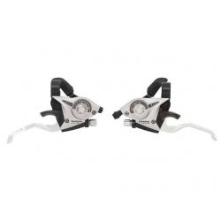 Шифтер Shimano Tourney ST-EF510 3 шв. + тросик сріблястий