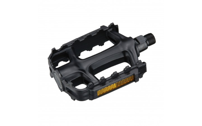 """Педалі NECO WP-163 MTB 9/16"""" пластик чорний, NECO, Pedals."""