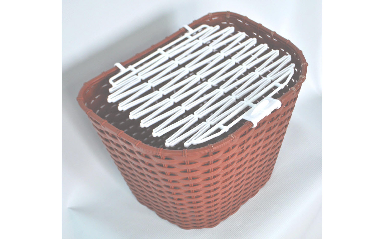 Корзина 28 тип MESSINA пластикова плетена, корич., ARDIS, Baskets.