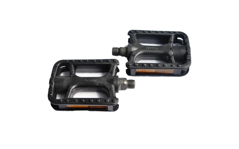 Педалі NECO WP-178 MTB пластик чорний, NECO, Pedals.