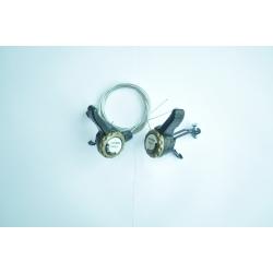 Шифтер YUANDA YD-K25 3+8шв + тросик з оболонкою