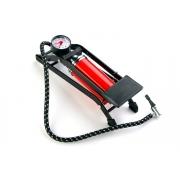 Насос ножний BEE FP-9802А з манометром червоний