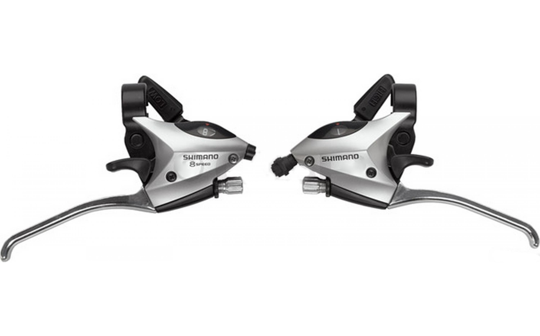 Шифтер Shimano Tourney ST-EF50 8 шв. + тросик сріблястий