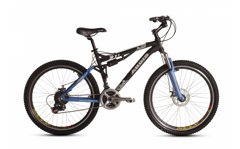 Bicycle ARDIS 26 MTB-susp. AL LAZER, ARDIS, MTB-susp. bicycles.