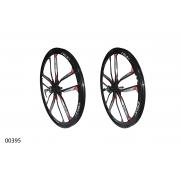 "Колеса литі ZHEMEI 26"" MG black DB freewheel, ZM-MD061"