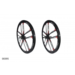 "Колеса литі ZHEMEI 26"" MG black DB freewheel, ZM-MD061"