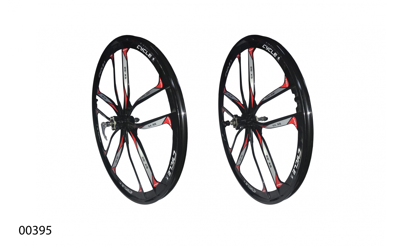 """Wheels ZHEMEI 26"""" MG чорні DB вільнобіг, ZM-MD061, ZHEMEI wheels, Wheels."""