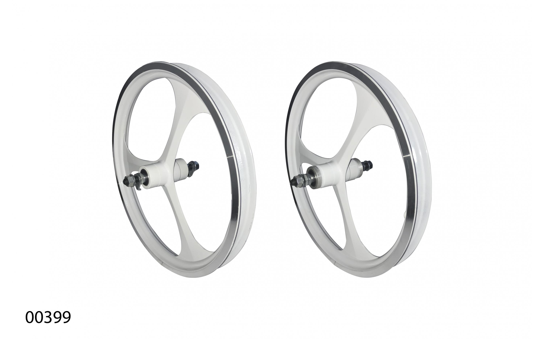 """Wheels ZHEMEI 16"""" АЛ white V-brake freewheel, ZM-MD3B1, ZHEMEI wheels, Wheels."""