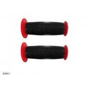 Гріпси дитячі ARDIS FL-401 88мм (чорно-червоні)